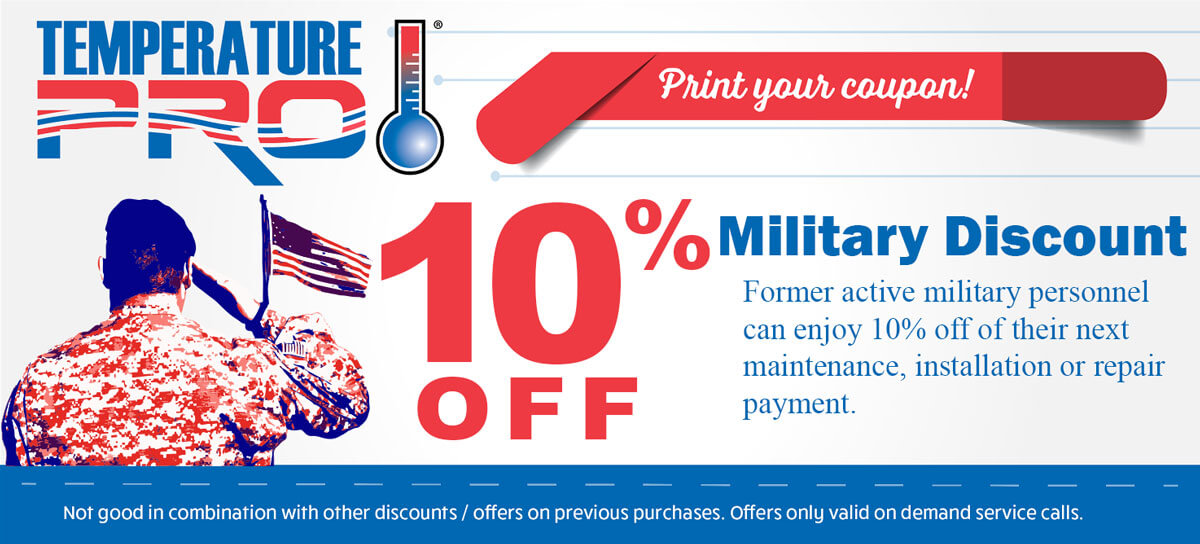 10% off military discount coupon
